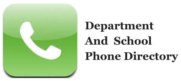 Department & School Phone Numbers